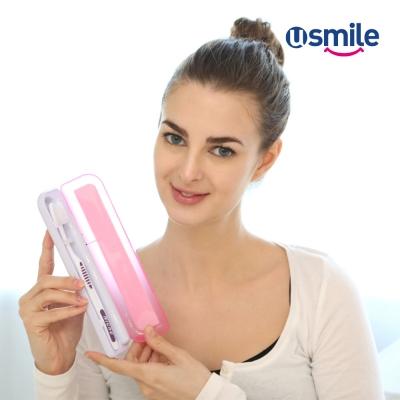 유스마일 UV자외선 사각칫솔살균기(핑크) NO.0039