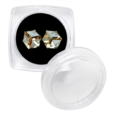 CUBE 6mm (GOLD SHADOW)