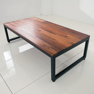 멀바우 철제 소파 테이블