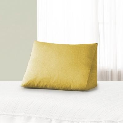 패션침대 등쿠션 보니토 옐로우커버+솜(속커버)