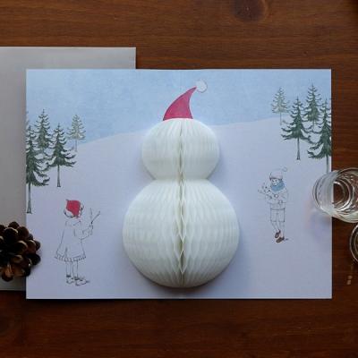 POP UP CARD_snowman