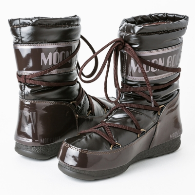 MOON BOOT W.E. SOFT MID - BROWN