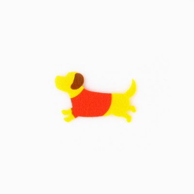 [Re:VERSE] Felt Applique - A-11 Dog