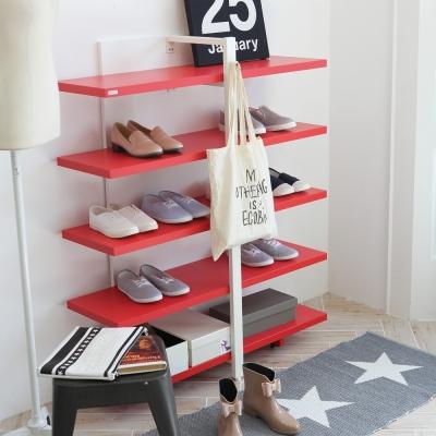 [다가구] 핑클 5단 신발장