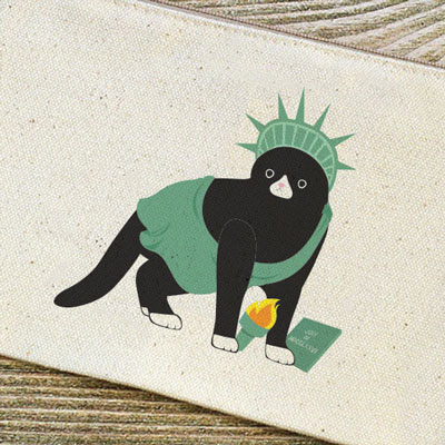 Basic Pouch_Statue of liberty
