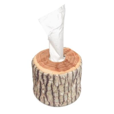 통나무 휴지케이스