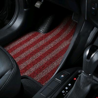 먼지잡는 컬러매트 쌍용 자동차 디프리매트 자동차매트