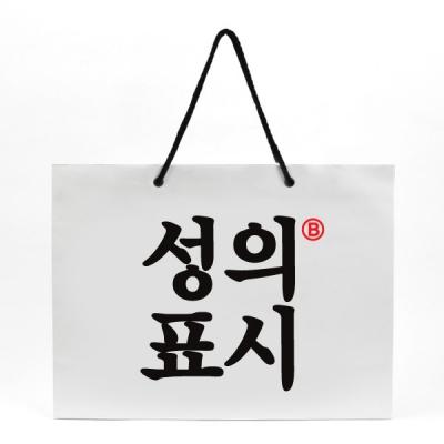반8 성의표시L 종이쇼핑백