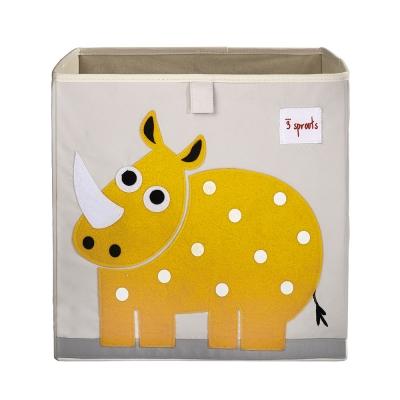 수납정리함 박스(장난감정리함) - 코뿔소