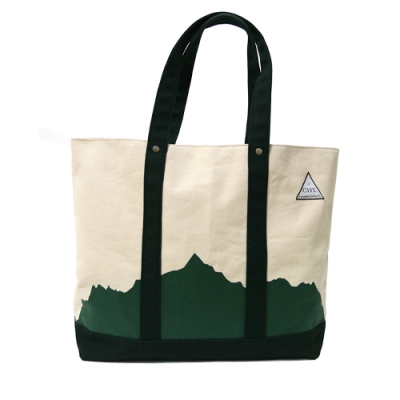 CAYL Mountain Tote / dark green