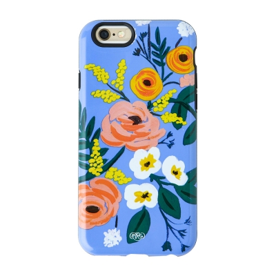 Violet Floral iPhone 6/6S/6Plus Case