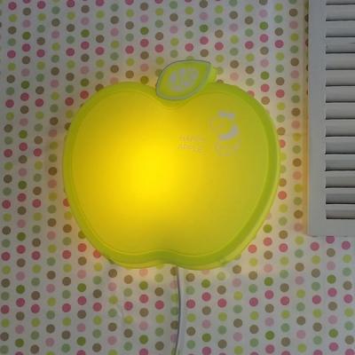 happy 애플 벽등 (그린)