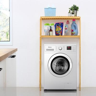 [올리빙] 다용도 원목 세탁기선반