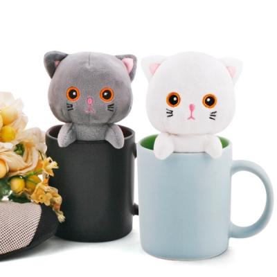 핫팩인형_고양이 큐티캣/친환경 밀알 아로마향 봉재인형