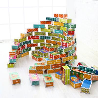 [아이팜]플레이브릭 종이벽돌 대형(30피스)