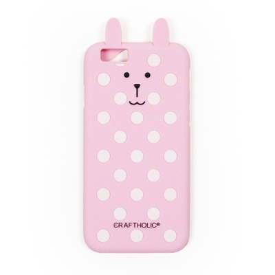 크래프트홀릭 Shell Cover for iPhone 6/6s (PINK DOT RAB)