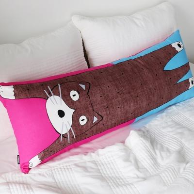 고양이 바디필로우 직대 롱쿠션 커버(솜별도)