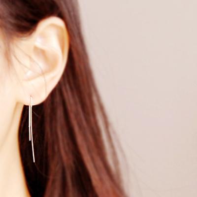 [하우즈쉬나우] bruno, silver simple line (short & long)