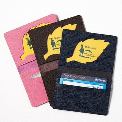 [소가죽] 카드지갑 Leather Folded Card Case ys3002