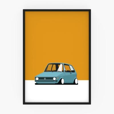 [April picnic_No.3] VolksWagen Golf MK1