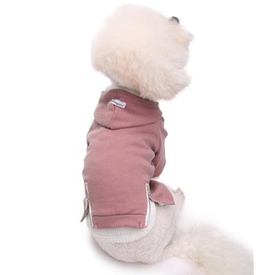 vintage hoodie-pink