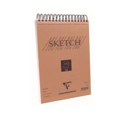 [클레르퐁텐] 화이트 스케치북 100Sheet (M)