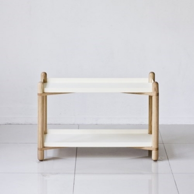 Cross Shelf 2단_White