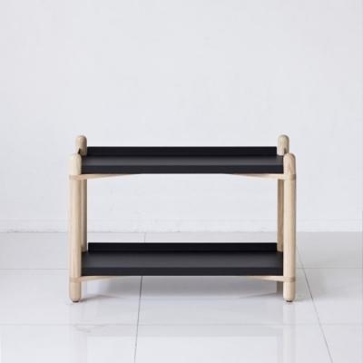 Cross Shelf 2단_ Black
