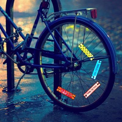 Reflector_Bicycle Wheel Deco