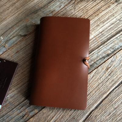 천연가죽 수제 다이어리,멀티플래너 Diary Simple B6  [번트오크]