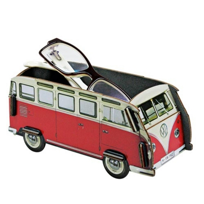 Mini Box-red bus