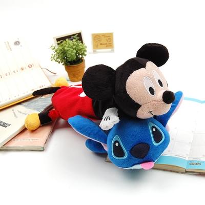 [DISNEY] 미키마우스 & 스티치 인형 필통