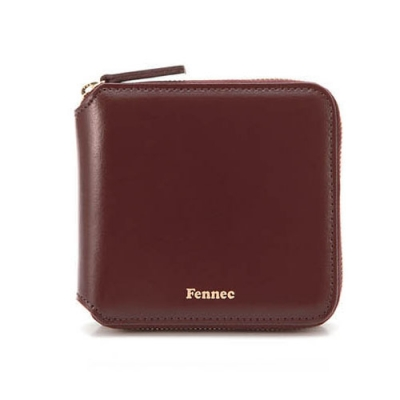 Fennec Zipper Wallet 007 Wine