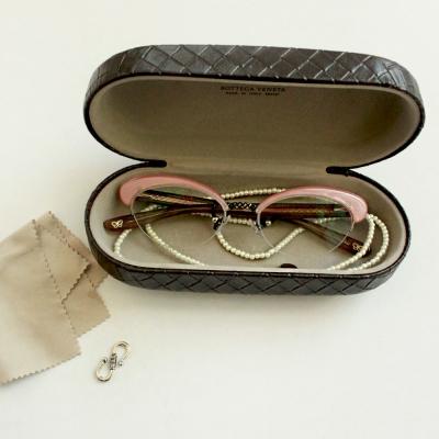 eyeglass strap -ver.7(진주,가죽안경줄)