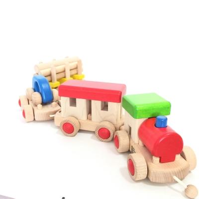 [바조]나무장난감_기차만들기놀이