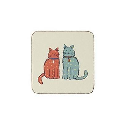 [울스터위버스] 컵 받침 - 캣워크 4P