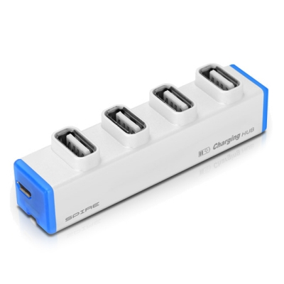 거스트 SPIRE 4포트 USB 허브 + 스마트폰 충전기 SP-MH300
