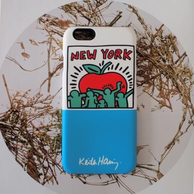 SKINU x Keith Haring 범퍼케이스 - New york Apple