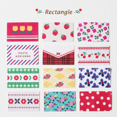 Deco Sticker-Rectangle