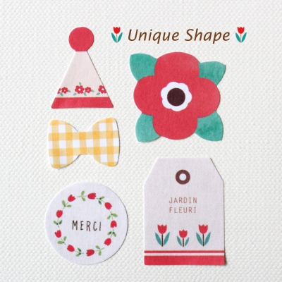 DECO STICKER-Unique Shape