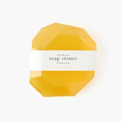 Soap Stone ROCK 12oz, Citrine/Lemon Basil