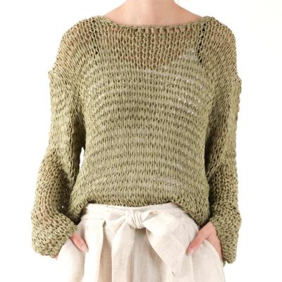 loose netting knit