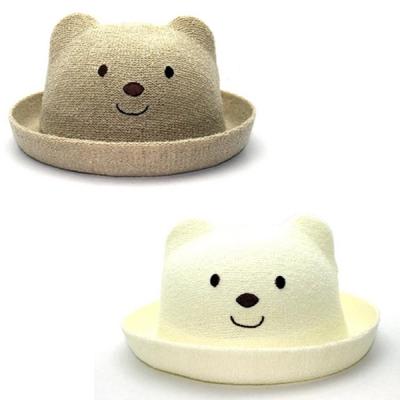 귀여운 베이비 곰돌이 밀짚모자 (7개월-3세) 202624_(901862662)