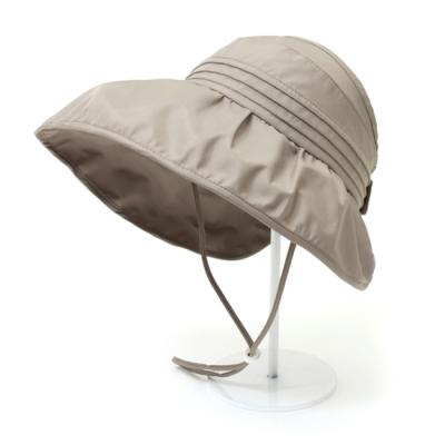 [베네]셔링 와이어 방수 돌돌이 모자