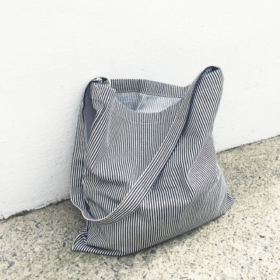 Easy Bag Square (DEEP STRIPE)