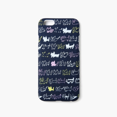 [아이폰6/6S] AIUEO iPhone Case Fabric - NEKO BORDER CO