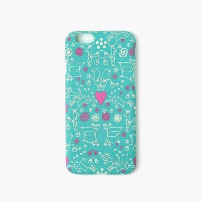 [아이폰6/6S] AIUEO iPhone Case Fabric - MORITUMO GR