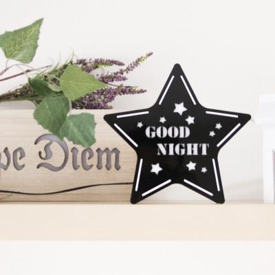 STAR 카피라이트 블랙 [GOOD NIGHT]