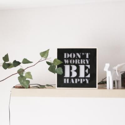 250 카피라이트_블랙_DONT WORRY BE HAPPY