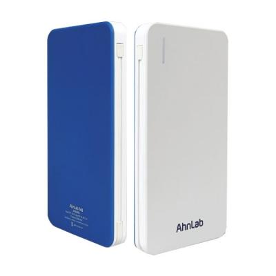 AhnLab Top 케이블 일체형 보조배터리 APD8000